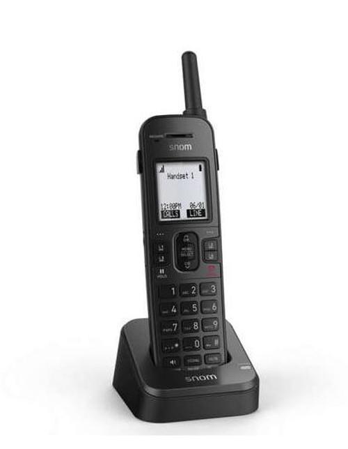 Snom M10R KLE VoIP SIP DECT Rugged Handset (80-S091-00)
