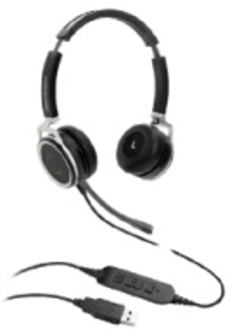Grandstream GUV3005 Binaural HD USB Headset (GUV3005)
