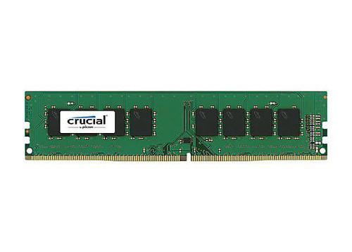 Crucial 4GB DDR4 SDRAM Memory Module 4 GB (1 x 4 GB) - DDR4 SDRAM - 2133 MHz DDR4-2133/PC4-17000 - 1.20 V - Non-ECC - Unregistered - 288-pin - DIMM (CT4G4DFS8213