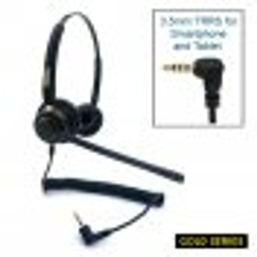Armor TelPro Gold 3200-B Stereo 3.5mm Headset (TPH-3200B-35)