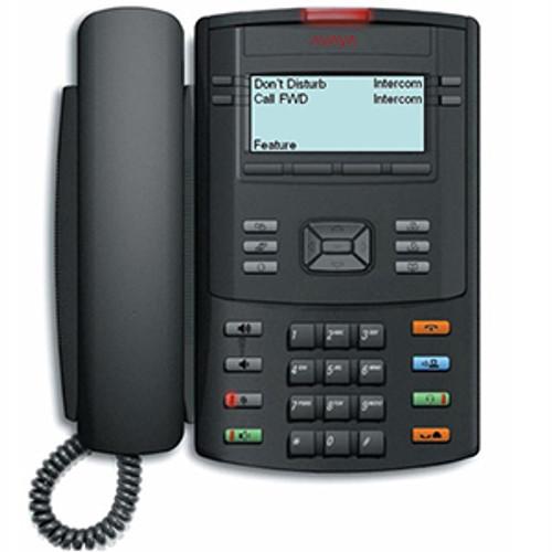 Avaya 1220 IP Desk Phone - Text Buttons (NTYS19AD70E6)