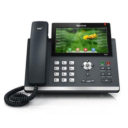 Yealink SIP-T48S VoIP Gigabit Touchscreen Telephone (SIP-T48S)
