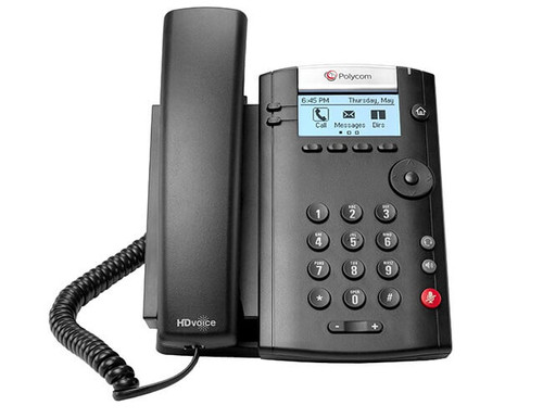 Polycom VVX 201 IP Phone (2200-40450-025)
