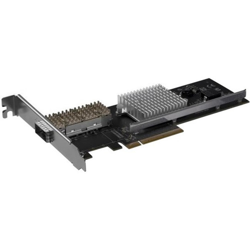 StarTech.com Dual Port 40G QSFP+ Network Card - Intel XL710 Open QSFP+ Converged Adapter PCIe 40 Gigabit Fiber Ethernet Server 40GbE NIC PEX40GQSFPI
