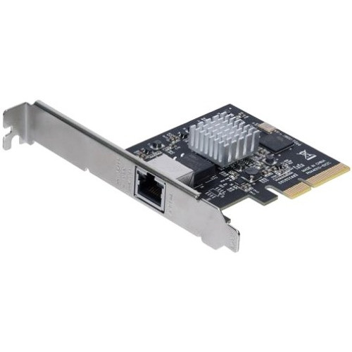 StarTech.com 1 Port PCI Express 10GBase-T / NBASE-T Ethernet Network Card - 5-Speed Network Support: 10G/5G/2.5G/1G/100Mbps - PCIe 2.0 x4 ST10GSPEXNB
