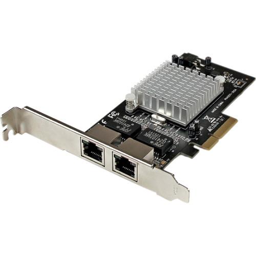 StarTech.com Dual Port PCI Express (PCIe x4) Gigabit Ethernet Server Adapter Network Card - Intel i350 NIC ST2000SPEXI