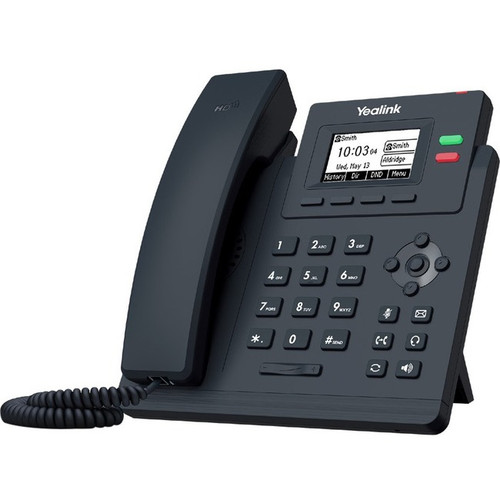 Yealink SIP-T31G IP Phone - Corded - Corded - Wall Mountable - Classic Gray SIP-T31G