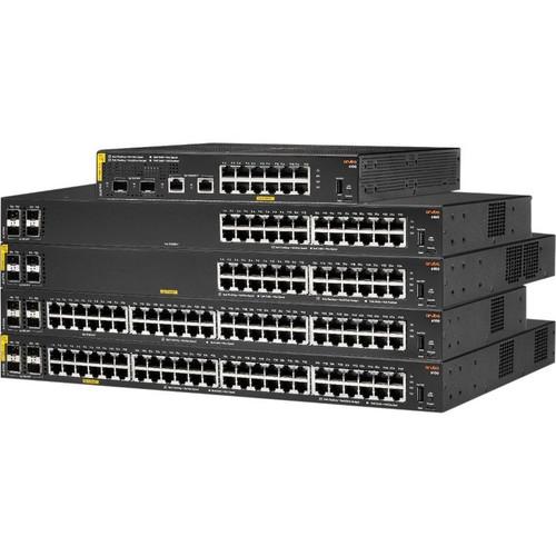 Aruba 6100 24G Class4 PoE 4SFP+ 370W Switch JL677A#ABA