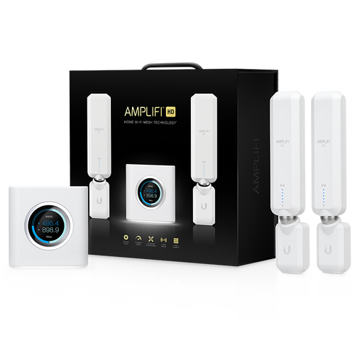 Ubiquiti AmpliFi Home Wi-Fi System With Router & 2 Mesh Points