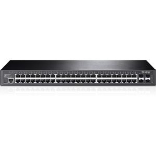 TP-Link JetStream 48 Port Ethernet Switch With 4 SFP Slots (T2600G-52TS)