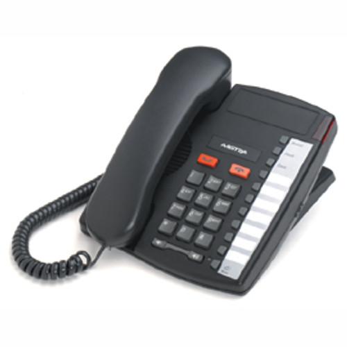 Aastra 9110 Single Line Charcoal Desk Phone (A1264-0000-1005)