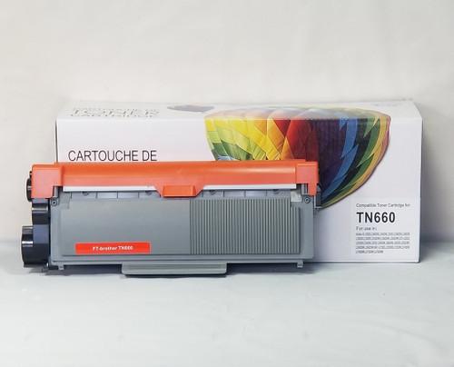 Compatible Brother TN660 Toner Cartridge - Black - Balloon Brand