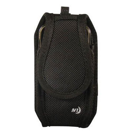 Black Nylon Carry Case With Belt Clip for Spectralink (WTO320)