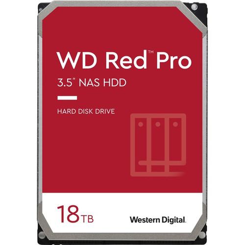 """WD Red Pro WD181KFGX 18 TB Hard Drive - 3.5"""" Internal - SATA (SATA/600) WD181KFGX"""
