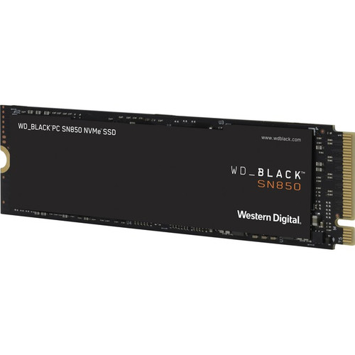 WD Black SN850 WDS200T1X0E 2 TB Solid State Drive - M.2 2280 Internal - PCI Express NVMe (PCI Express 4.0 x4) WDS200T1X0E