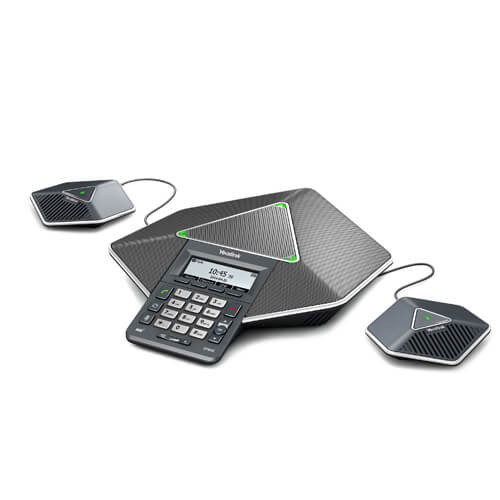 Yealink CP860 IP Conference Phone - Bundle (With 2 Exp Mics) (CP860-B)