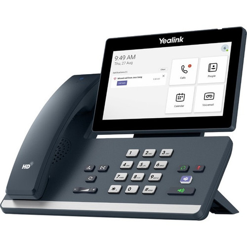 Yealink MP58-WH IP Phone - Corded/Cordless - Corded - Desktop - Classic Gray MP58-WH-SFB