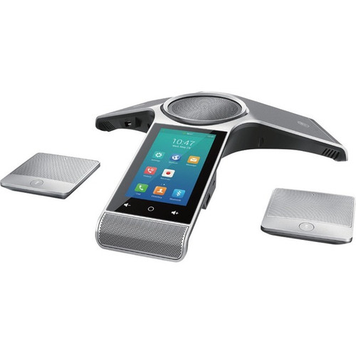 Yealink CP960 IP Conference Station - Corded/Cordless - Corded/Cordless - Wi-Fi, Bluetooth - Desktop - Classic Gray CP960-WIRELESSMIC