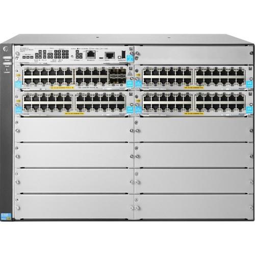 HPE 5412R 92GT PoE+/4SFP+ (No PSU) v3 zl2 Switch JL001A