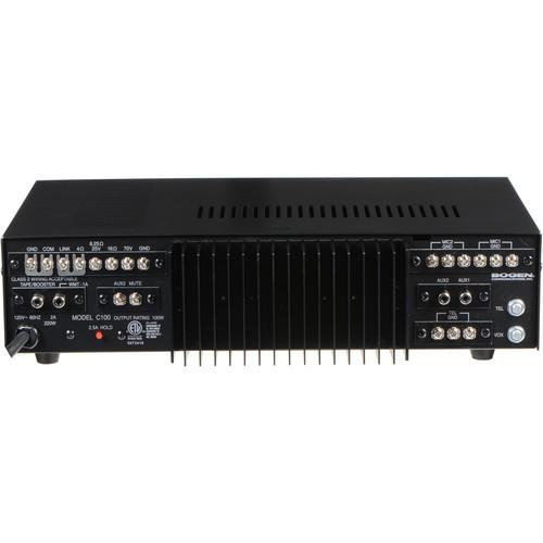 Bogen Communications C100 Classic Series Public Address Amplifier 100W (C100)