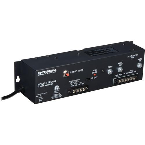 Bogen Communications TPU15A Telephone Paging Amplifier 15W (TPU15A)Bogen Communications TPU15A Telephone Paging Amplifier 15W (TPU15A)