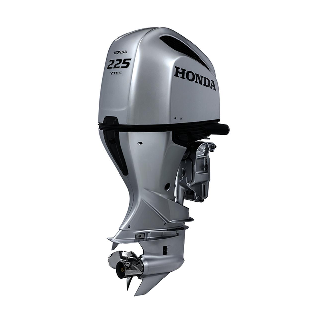 Honda BF225 mechanical shift 4 stroke outboard motor