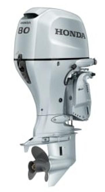 Honda BF80 4 stroke outboard motor