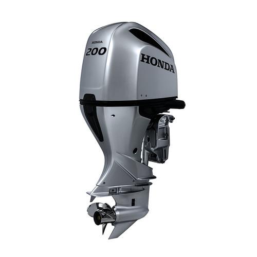 Honda BF200 mechanical shift 4 stroke outboard motor