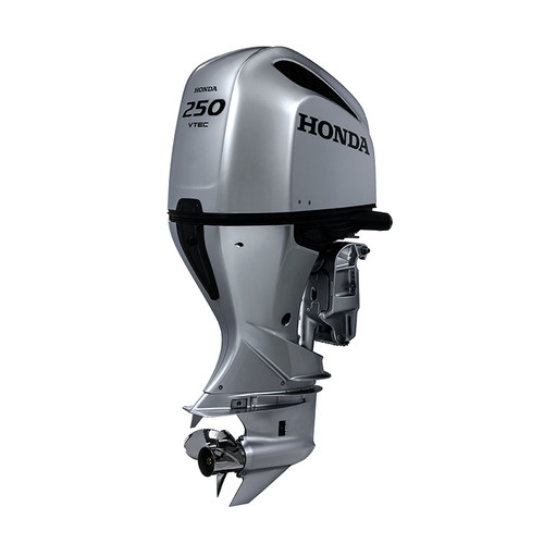 Honda BF250 mechanical shift 4 stroke outboard motor