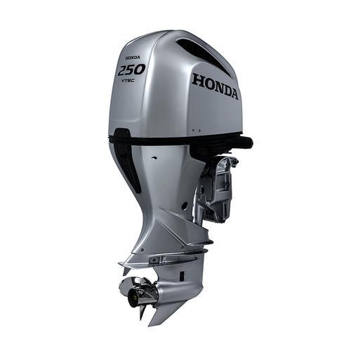 Honda BF250 mechanical shift 4 stroke outboard motor