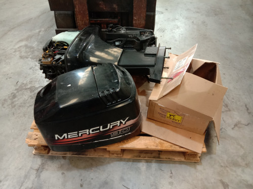 Wrecking - 1999 Mercury 90hp 2 stroke outboard