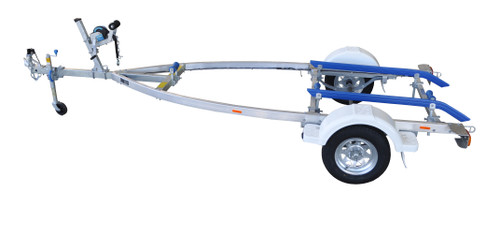 Move alloy boat trailer - 749kg 3.5m - 4.0m skid style