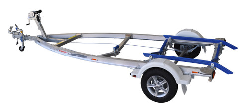 Move alloy boat trailer - 1098kg 4.1m - 4.5m skid style