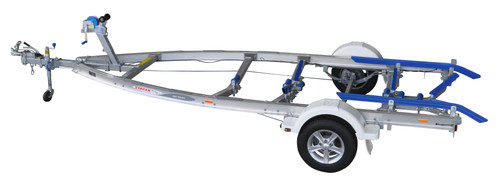 Move alloy boat trailer - 1100kg 4.5m - 4.9m skid style