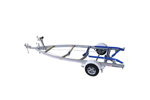 Move alloy boat trailer - 1298kg 4.9m - 5.3m skid style