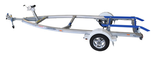 Move alloy boat trailer - 749kg 4.1m - 4.5m skid style heavy duty