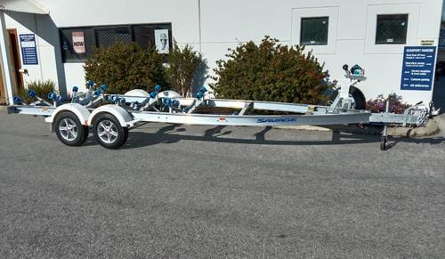 Savage Alloy 6.0-6.3m boat trailer