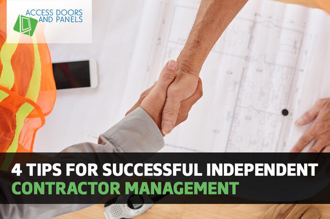 4 Tips For Successful Independent Contractor Management