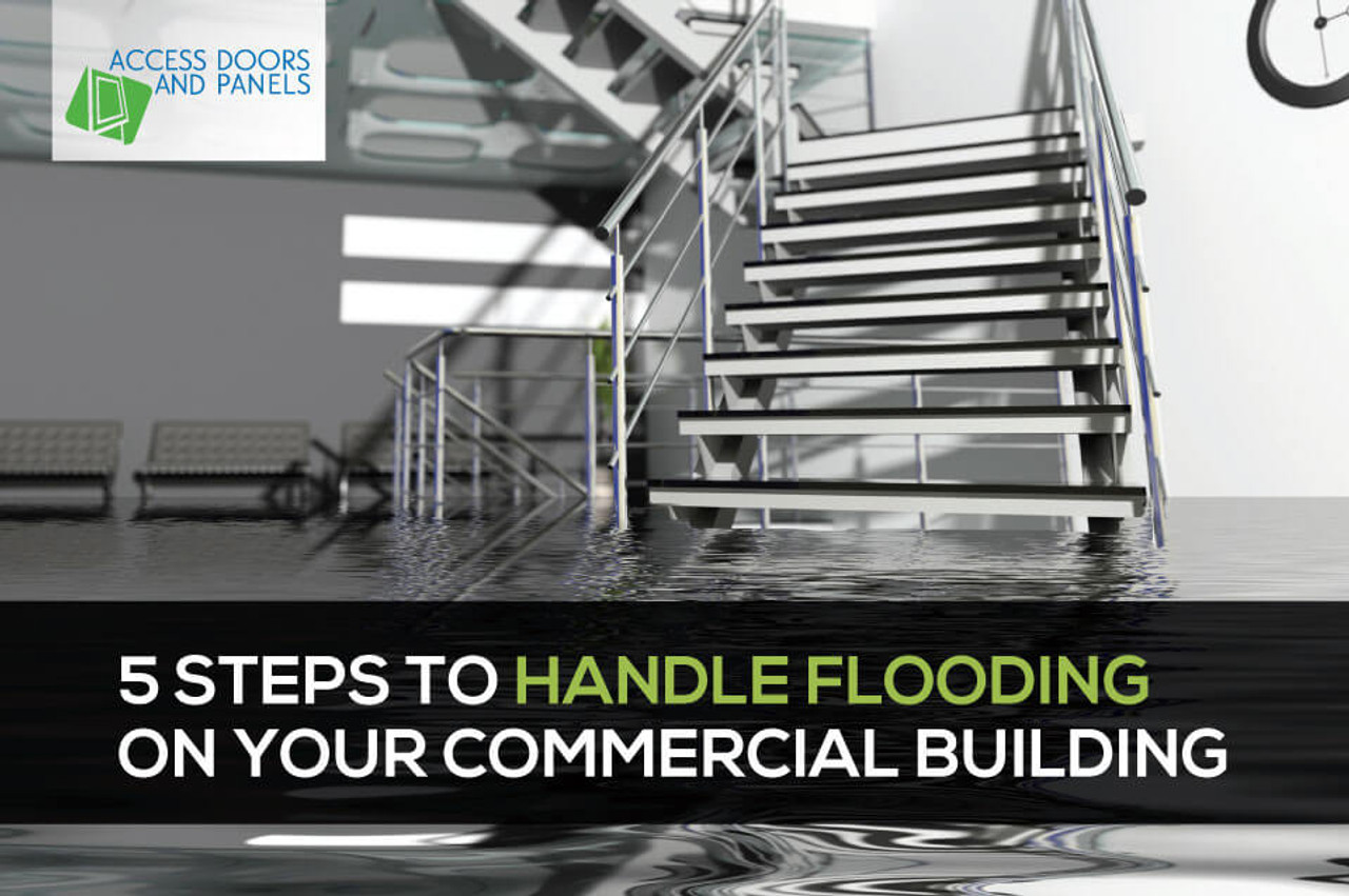 5 Steps to Handle Flooding on Your Commercial Building