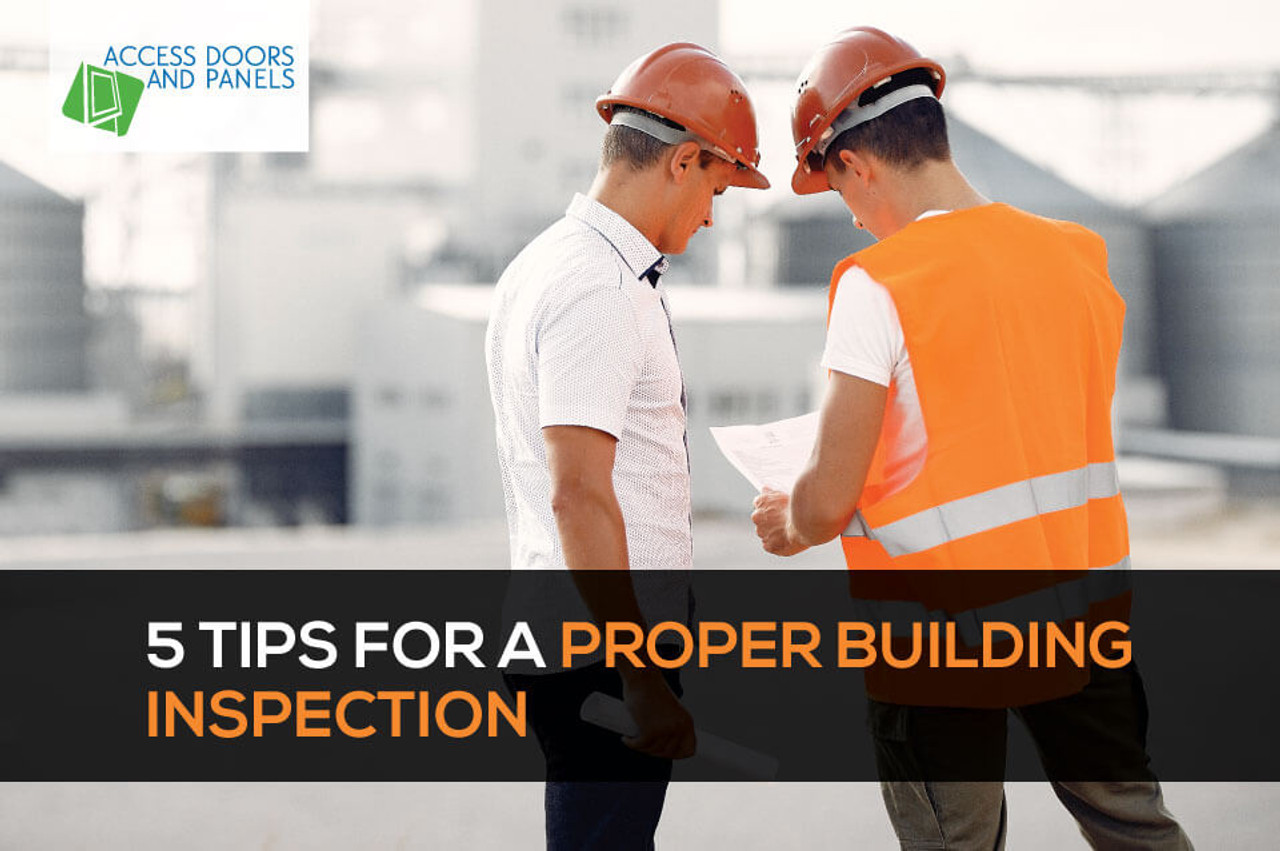 5 Tips for a Proper Building Inspection