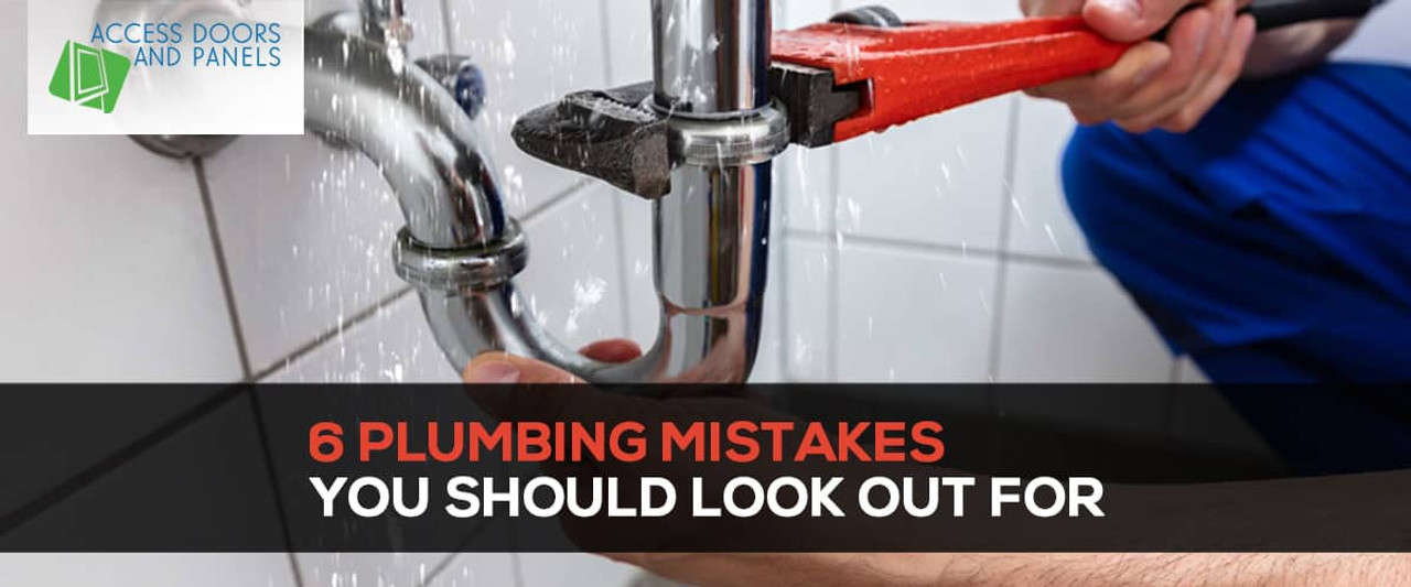 6 Plumbing Mistakes You Should Look Out For