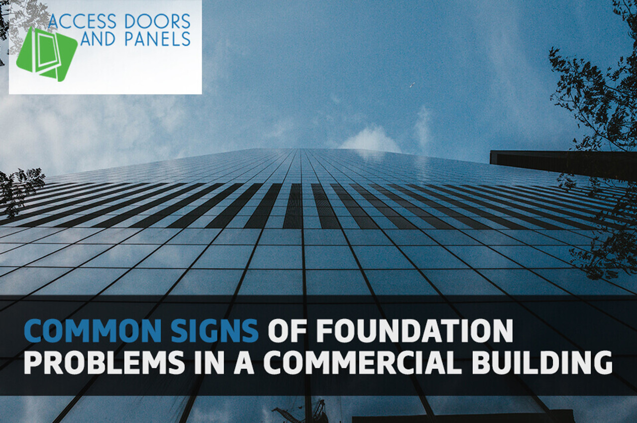 Common Signs of Foundation Problems In A Commercial Building
