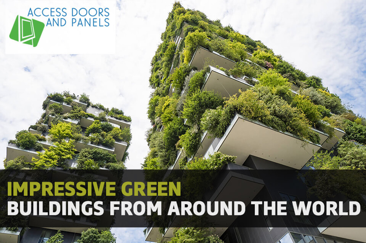 Impressive Green Buildings From Around The World