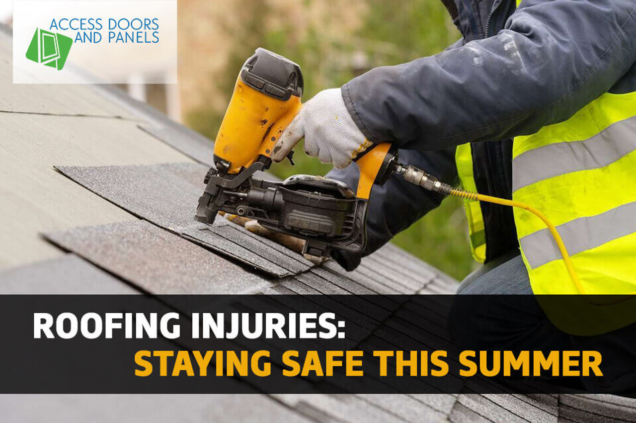 Roofing Injuries: Staying Safe This Summer
