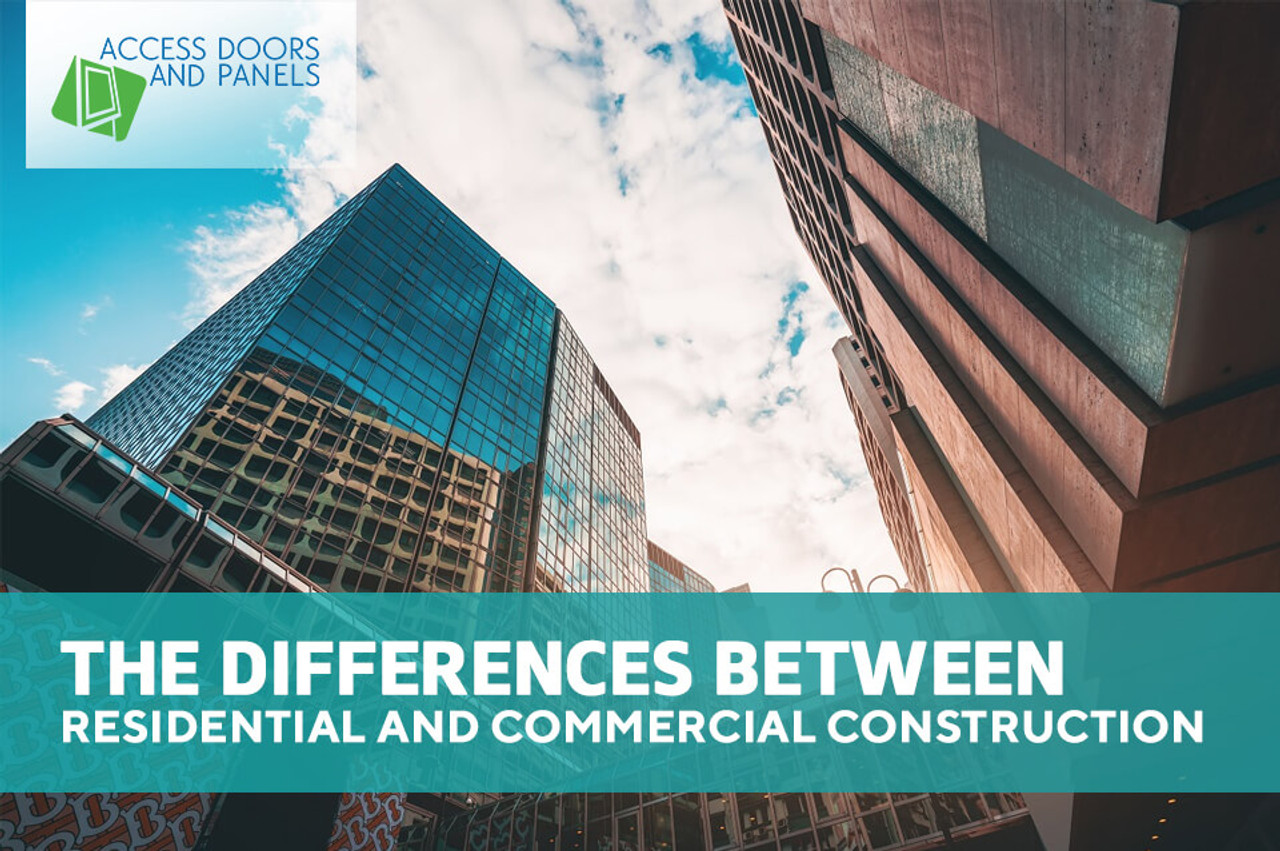 The Differences Between Residential and Commercial Construction