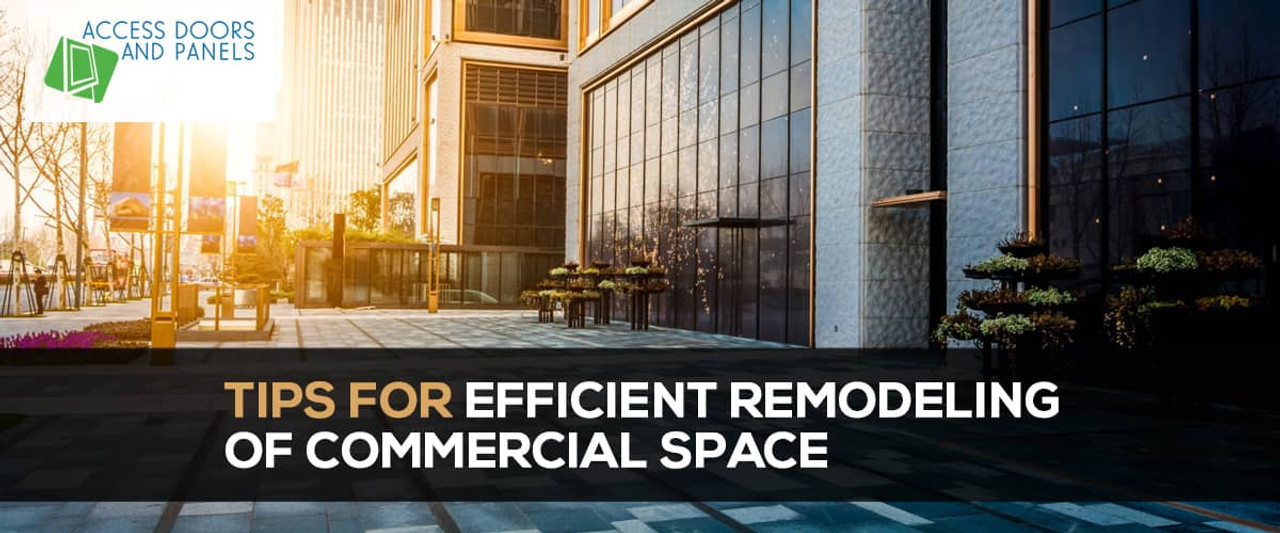 Tips for Efficient Remodeling of Commercial Space
