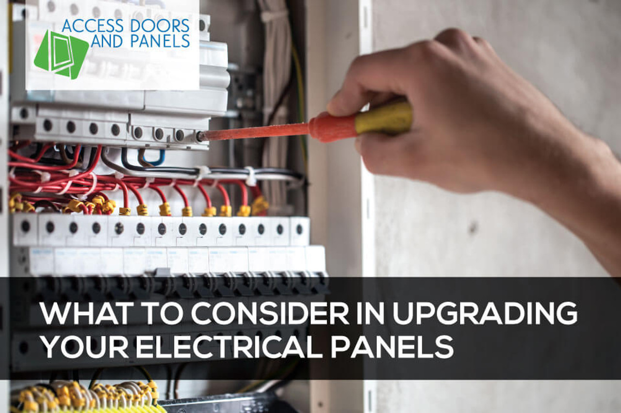 What to Consider in Upgrading Your Electrical Panels