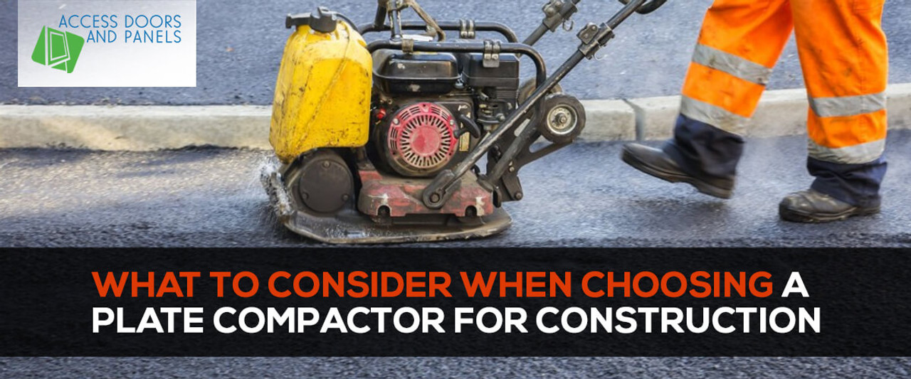 What to Consider When Choosing a Plate Compactor for Construction