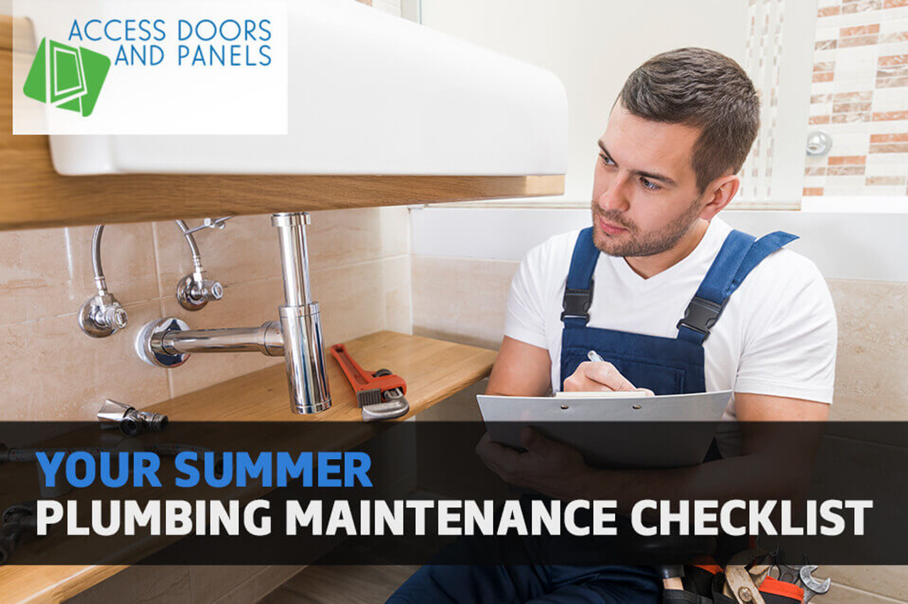 Your Summer Plumbing Maintenance Checklist
