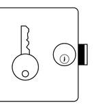 Cendrex Detention Deadbolt Lock with Key dollar975 12 days